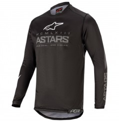 Maillot Cross Enfant ALPINESTARS RACER GRAPHITE GEAR 2020 Noir