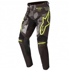 Pantalon Cross Enfant ALPINESTARS RACER TACTICAL GEAR 2020 Noir - Jaune