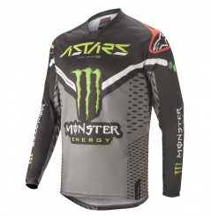 Maillot Cross ALPINESTARS RAPTOR GEAR 2020 Noir - Gris