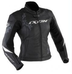 Blouson Femme Cuir Moto Ixon PRIMA VX Noir