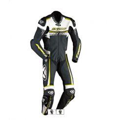 Combinaison Racing IXON MIRAGE Blanc / Noir / Jaune