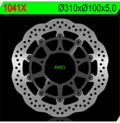 Disque de frein avant NG Brake Wave Suzuki GSXR600 (06-07) GSXR750 (06-07) GSXR1000 (05-08)