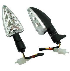 Clignotant LED Type Origine pour 750 Shiver et GT (07-12) Tuono V4 (11-18) 1200 Dorsoduro (11-18) Avant Gauche / Arrière Droit