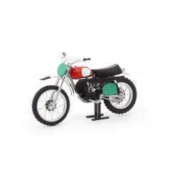 Maquette Moto 1/12 ème HUSQVARNA CROSS 250 de 1970