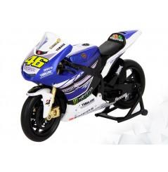 Maquette Moto GP 1/12 ème Replica YAMAHA FACTORY MOVISTAR VALENTINO ROSSI N°46