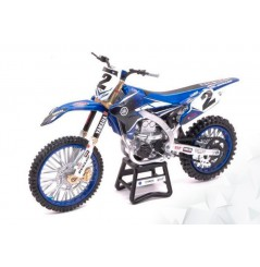 Maquette Moto 1/12 ème YAMAHA YZF 450 Replica COOPER WEBB N°2