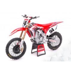 Maquette Moto 1/12 ème HONDA CRF 450 R HRC Replica KEN ROCZEN N°94