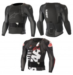 Gilet de Protection ALPINESTARS SEQUENCE LONG SLEEVE PROTECTION JACKET 2020