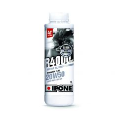 Huile moto Ipone R4000 RS 4T 20W50 - 1 Litre