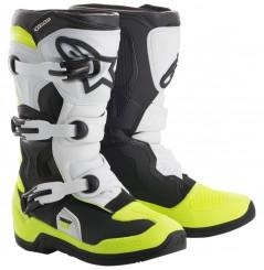Bottes Moto Cross Enfant ALPINESTARS TECH 3 S Noir - Blanc - Jaune