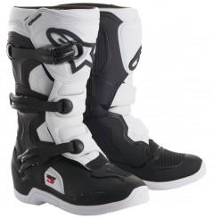 Bottes Moto Cross Enfant ALPINESTARS TECH 3 S Noir - Blanc