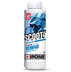 Huile Ipone Scoot 4 10W40 - 1 Litre