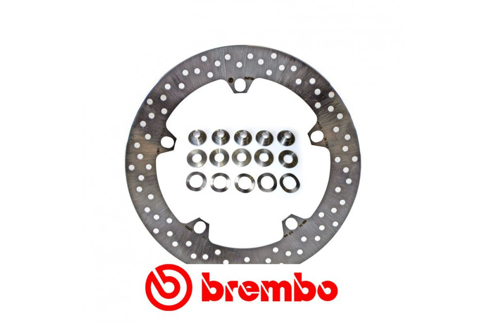 disque de frein avant brembo bmw r1200gs et r1200r dark white street moto piece. Black Bedroom Furniture Sets. Home Design Ideas