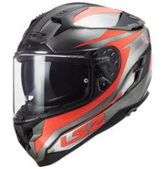 Casque moto LS2 FF327 Challenger HPFC Cannon Orange
