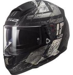 Casque Moto LS2 VECTOR EVO HUNTER Noir Mat - Titanium