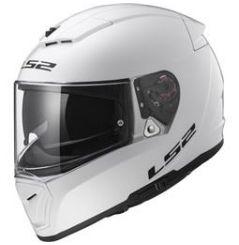 Casque moto LS2 Breaker Solid Blanc