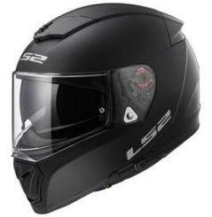 Casque moto LS2 Breaker Solid Noir Mat