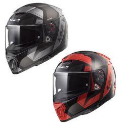 Casque moto LS2 Breaker Physics Noir / Rouge