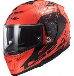 Casque moto LS2 Breaker Swat Orange