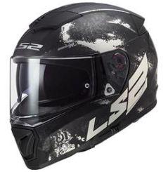 Casque moto LS2 Breaker Deft Titane Noir mat