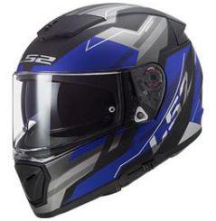 Casque moto LS2 Breaker Beta Bleu mat