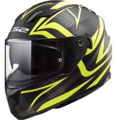 Casque moto LS2 FF320 Stream Evo Jink Jaune