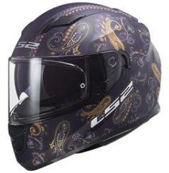 Casque Moto LS2 STREAM EVO PASLY Violet Mat