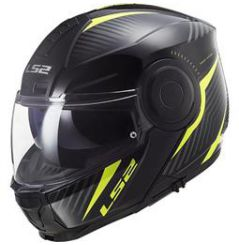 Casque FF902 LS2 Scope Skid Noir et Jaune