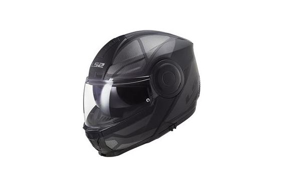 Casque FF902 LS2 Scope Axis Noir et Titane