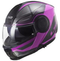 Casque FF902 LS2 Scope Axis Rose et Noir