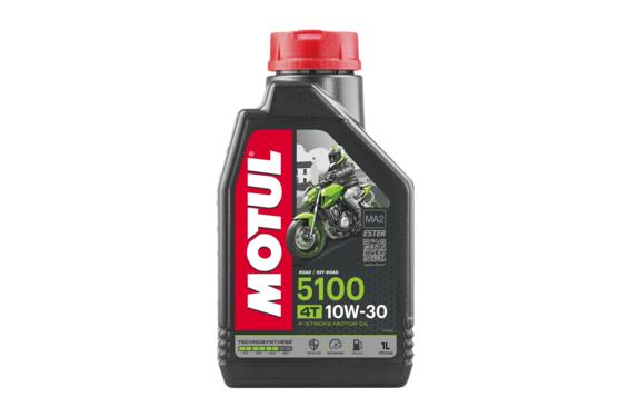 Huile Moto Motul 5100 4T 10W30 1 Litre