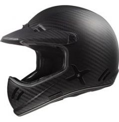 Casque Cross LS2 Xtra Solid Carbone mat