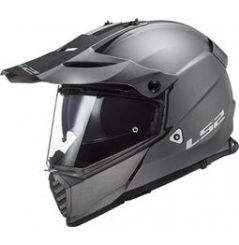 Casque Cross LS2 Pioneer Evo Solid Titane