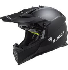 Casque Cross LS2 Fast Evo Solid Noir mat