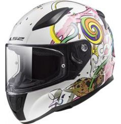 Casque Enfant LS2 Rapid Mini Crazy Pop