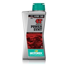 Huile Motorex Power Synt 4T 10W50 100% Synthèse 1 Litre