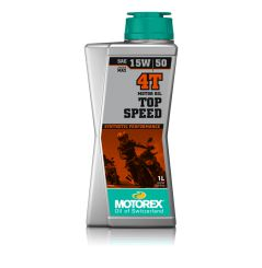 Huile Motorex Top Speed 4T 15W50 1 Litre