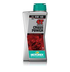 Huile Motorex Cross Power 4T 5W40 1 Litre