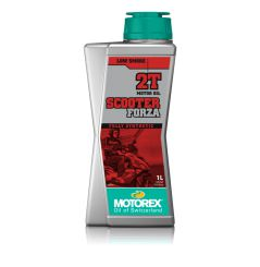 Huile Motorex Scooter Forza 2T 100% Synthèse 1 Litre