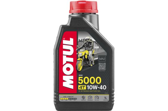 Huile moto Motul 5000 4T 10W40 1 Litre