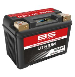 Batterie Moto BS Lithium BSLI-06 (YTZ12S / YTZ14S)