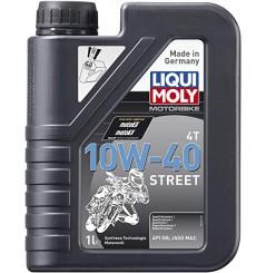 Huile Moto LIQUI MOLY 10W40 Motorbike Street Semi-Synthèse 1 Litre