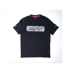 T-Shirt RST LOGO Noir - Gris 2020 Manche Courte - Col Rond