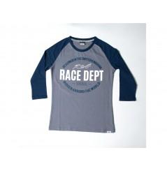 T-Shirt Femme RST ORIGINAL 1988 Gris - Bleu 2020 Manche 3/4 - Col Rond