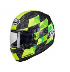 Casque Moto ARAI PROFILE-V PATCH FLUOR YELLOW 2021