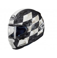 Casque Moto ARAI PROFILE-V PATCH WHITE 2021