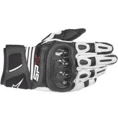 Gants moto Alpinestars SP X Air Carbon V2 - Blanc