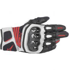 Gants moto Alpinestars SP X Air Carbon V2 - Noir, Blanc & Rouge