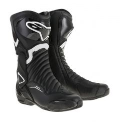 Bottes moto Alpinestars SMX-6 v2 - Noir et Blanc