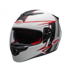Casque Moto BELL RS-2 SWIFT Blanc - Noir - Rouge 2020